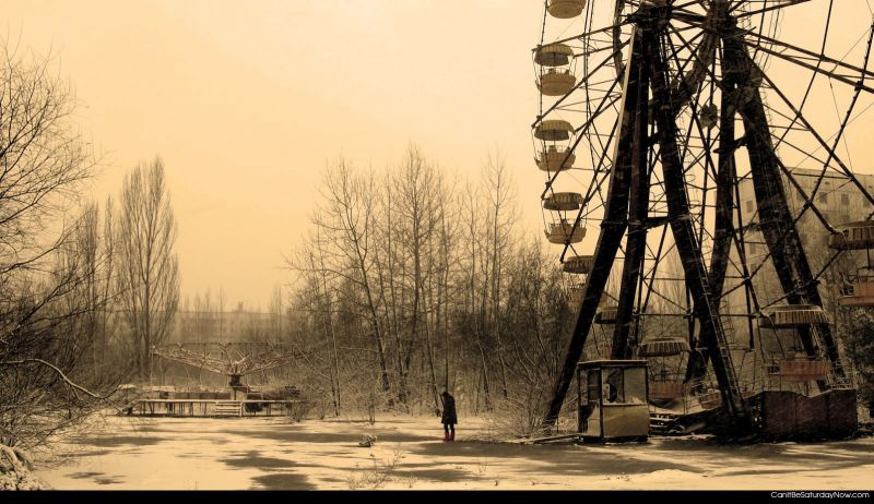 Dead fairground