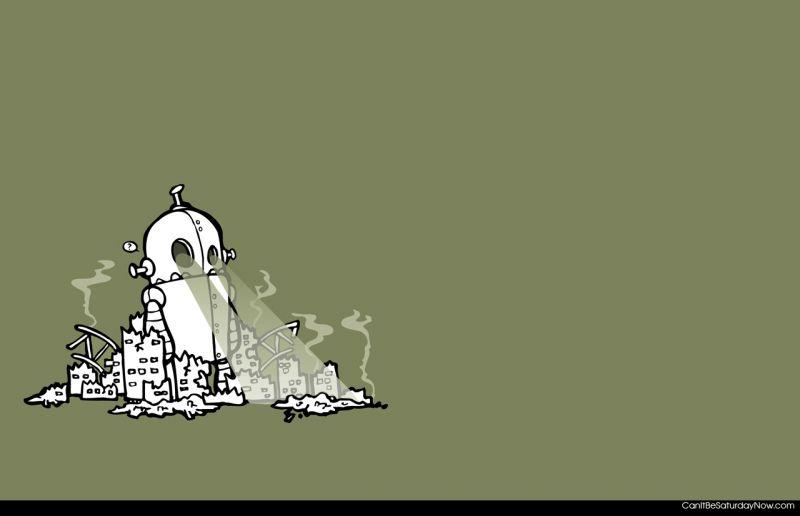 Robot destroy