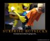 Surprise sponge sex
