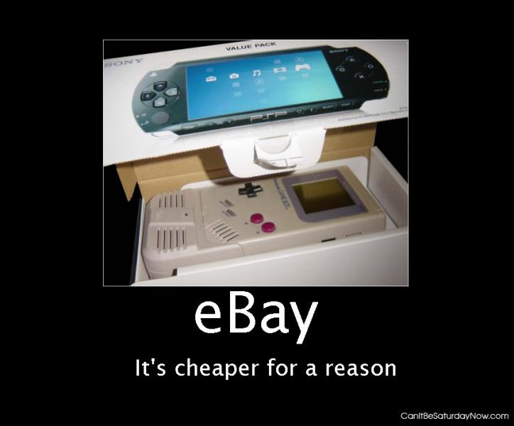 Ebay is cheaper