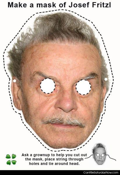 Fritzl Mask