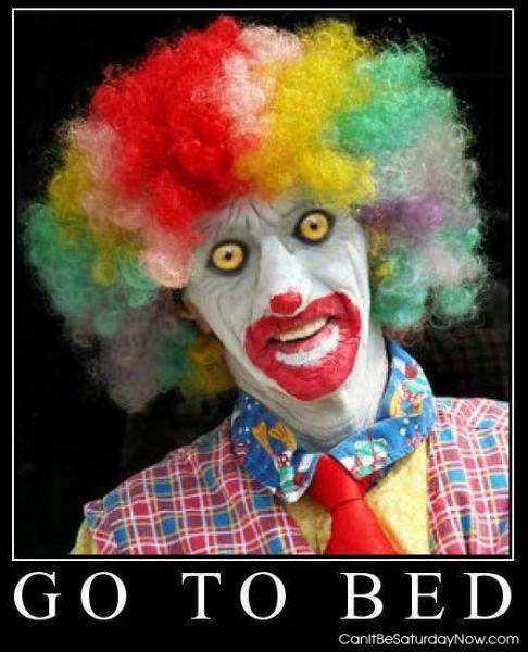 Clown bed