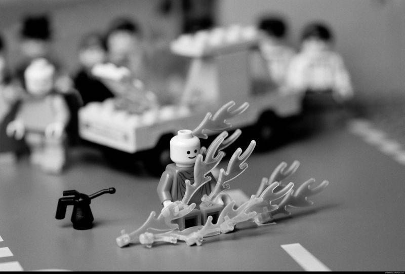 Lego munk