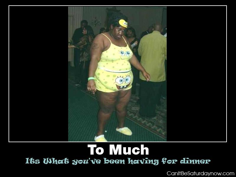 Sponge bob fat pants
