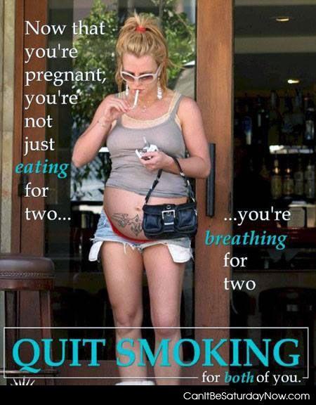Preg smoke