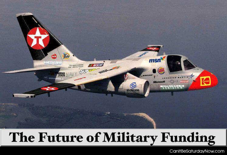 Millitary funding