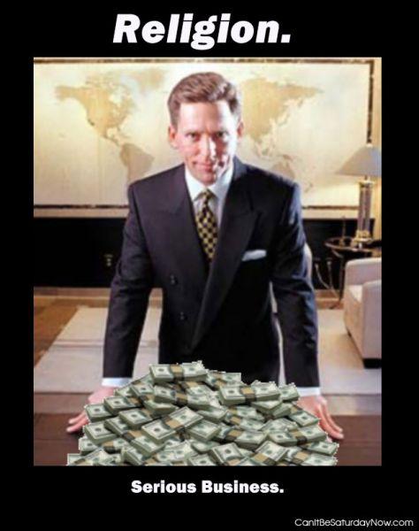 Religion money