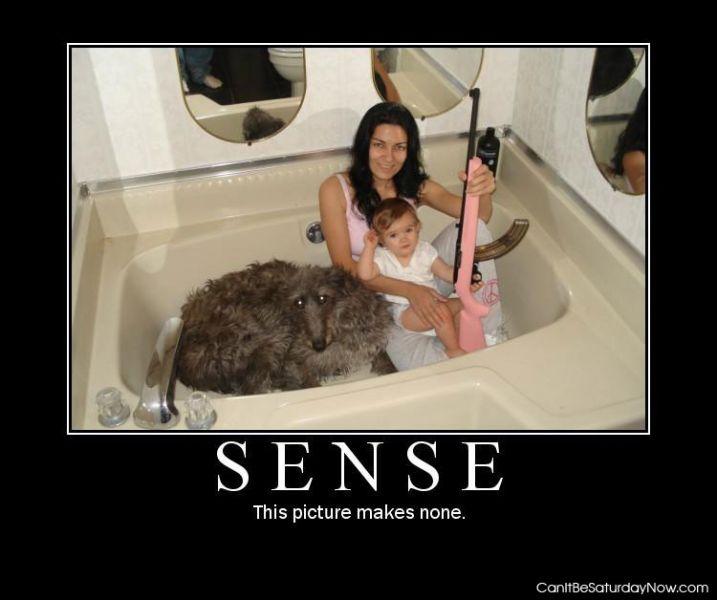 No sense