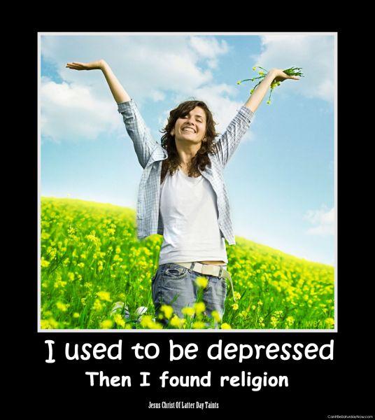 Religion depressed