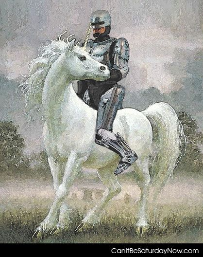 Robocop unicorn