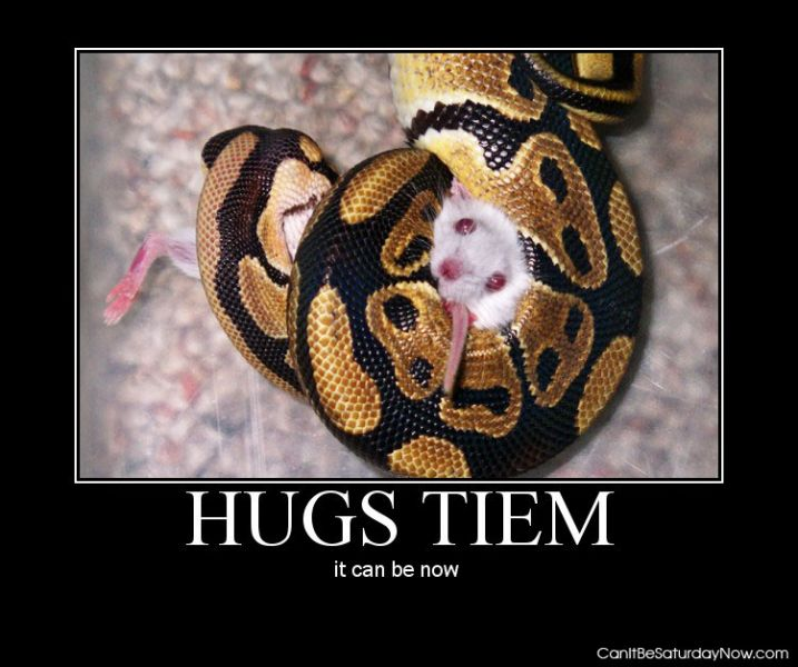 Snake hug