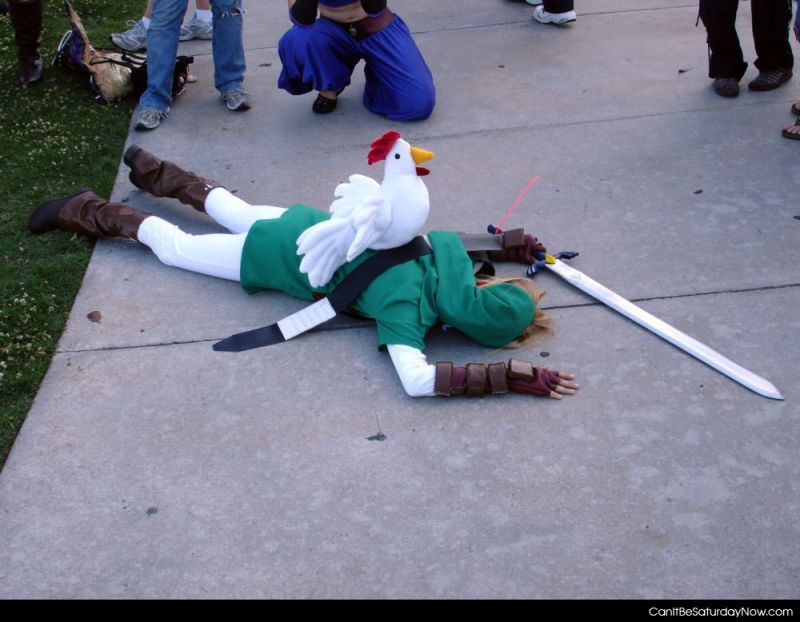 Chicken vs link
