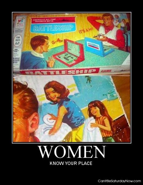 Women battleship