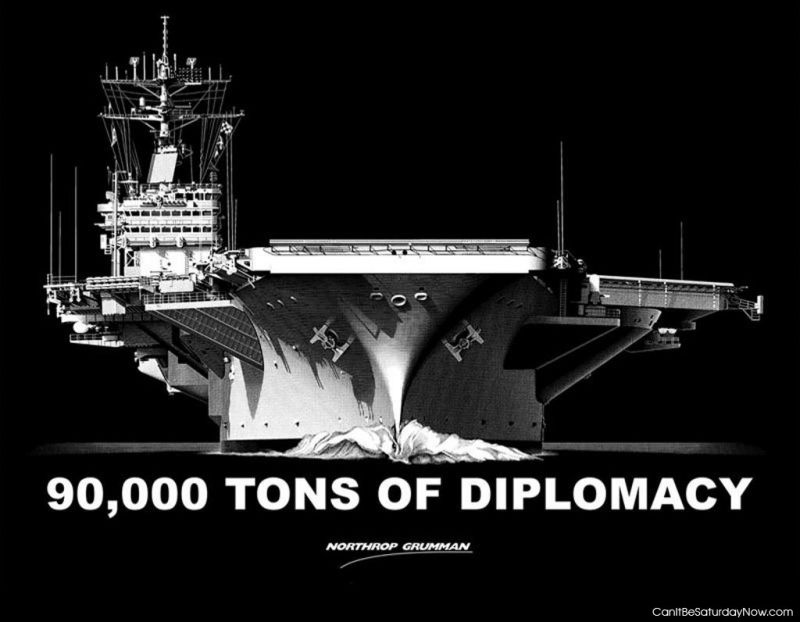 Tons of Diplomacy