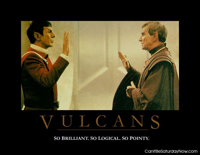 Pointy Vulcans