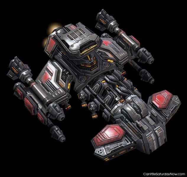 Starcraft ship