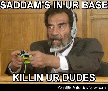Saddam killing