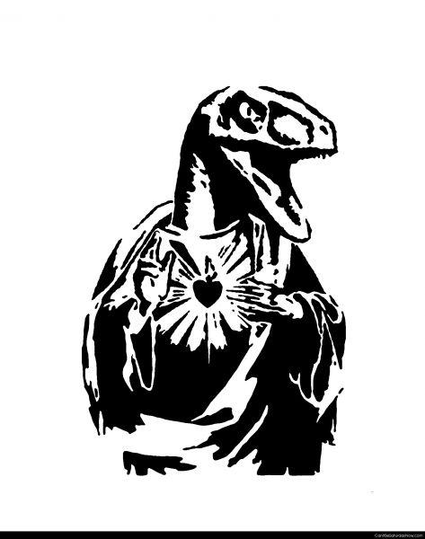 Rapter stencil