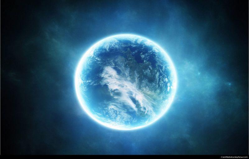 Glow earth