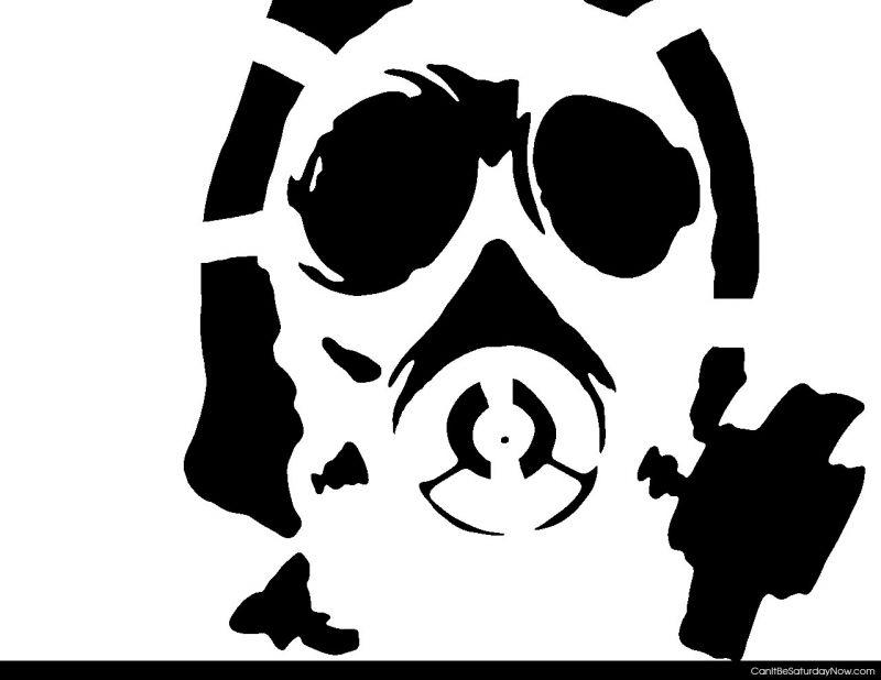 Gas stencil