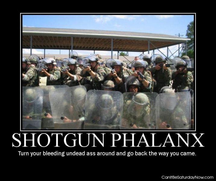 Shotgun phalanx