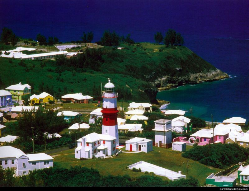 Lighthouse town