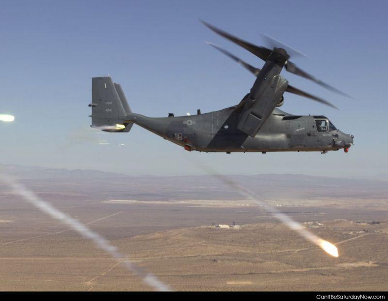 USAF brings hell