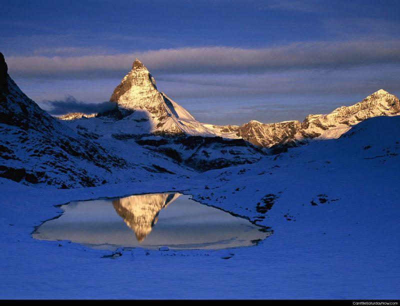 Pond reflects