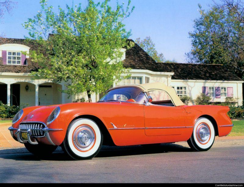 1950s Corvette