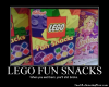 Eat legos