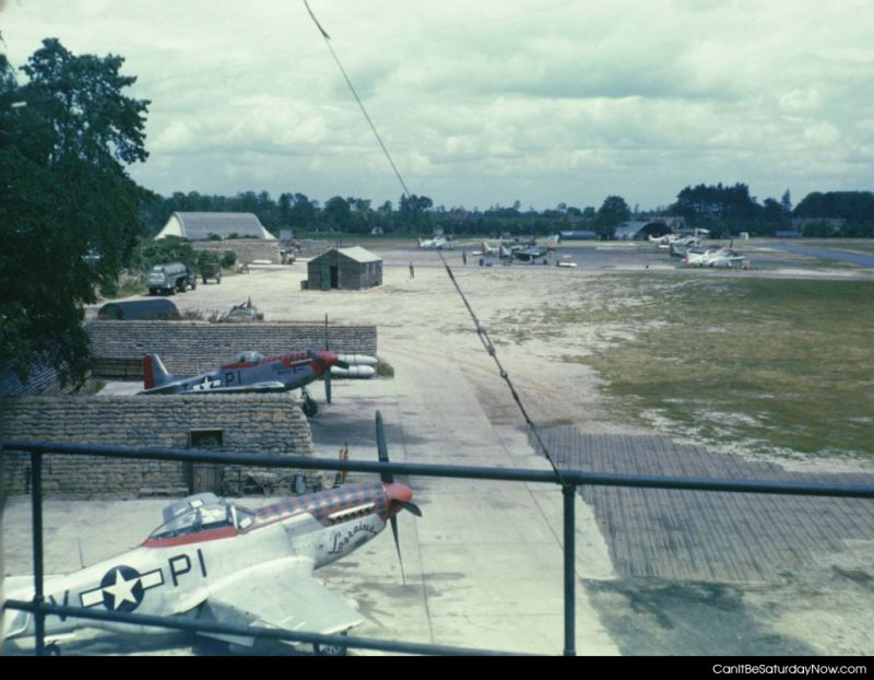 Old air base