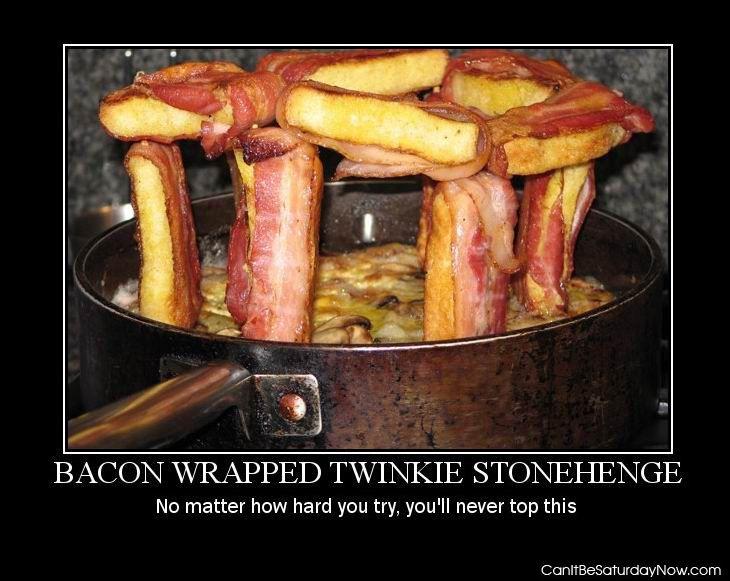 Bacon Stonehenge
