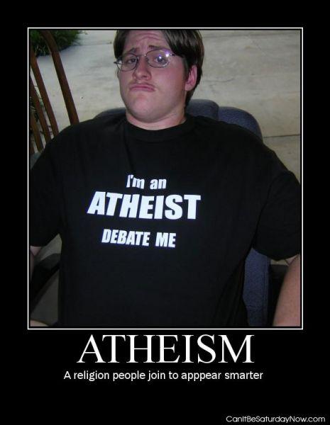 Atheist debate