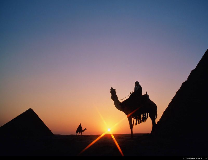 Egypt sunset