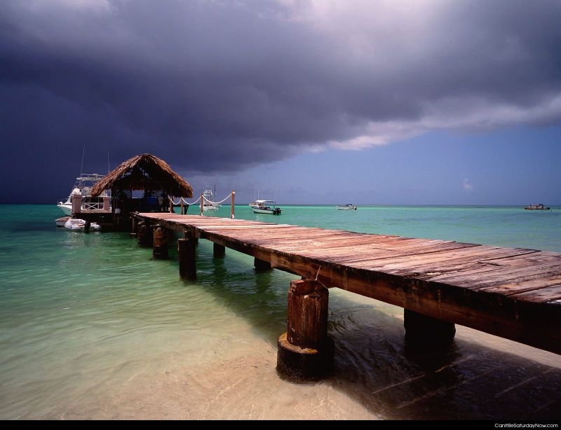 Cloudy paradise