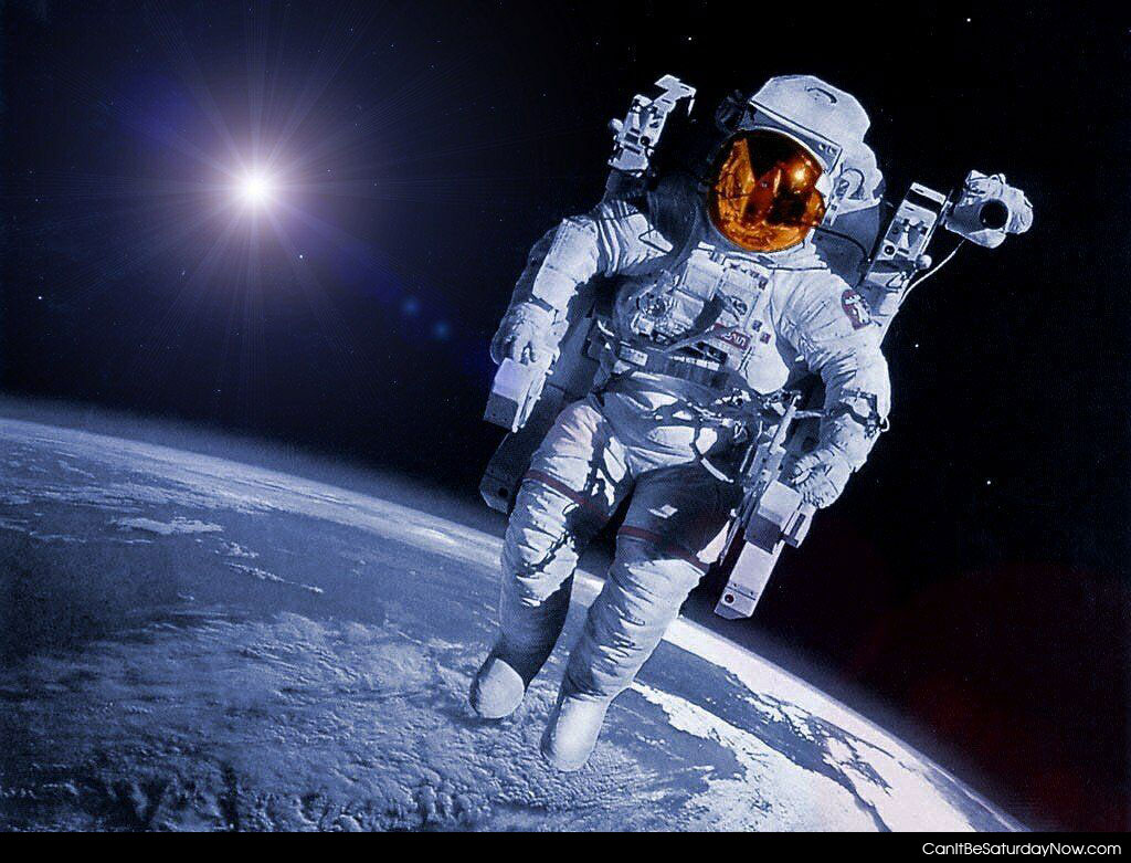 an astronaut goes out for a space walk - photo #31