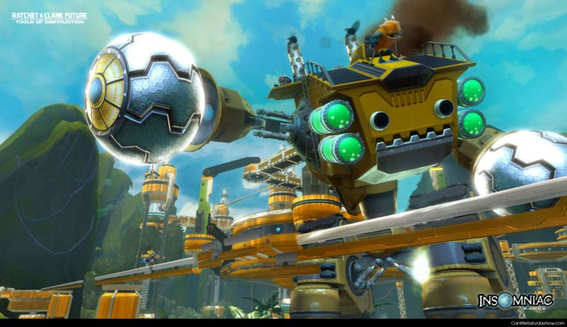 Ratchet clank future
