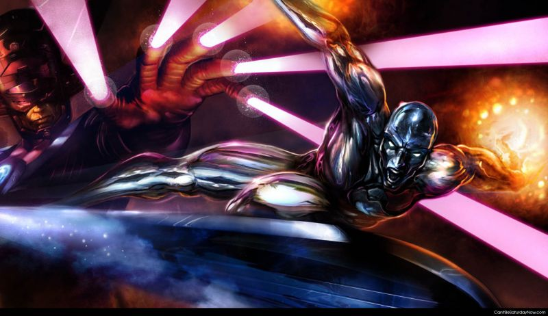 Magneto Silver surfer