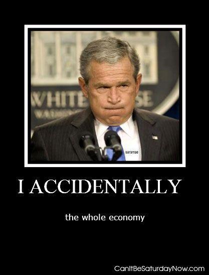 Accidentally economy