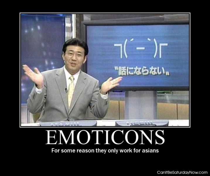 Asians emoticons