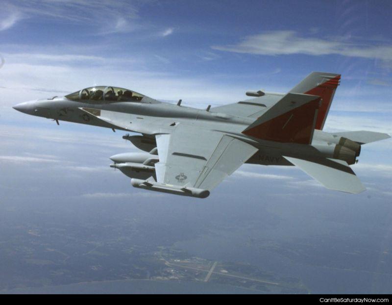 USAF jet side
