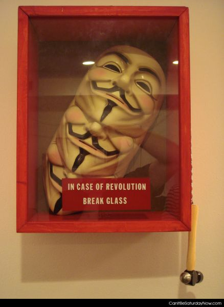 Revolution glass