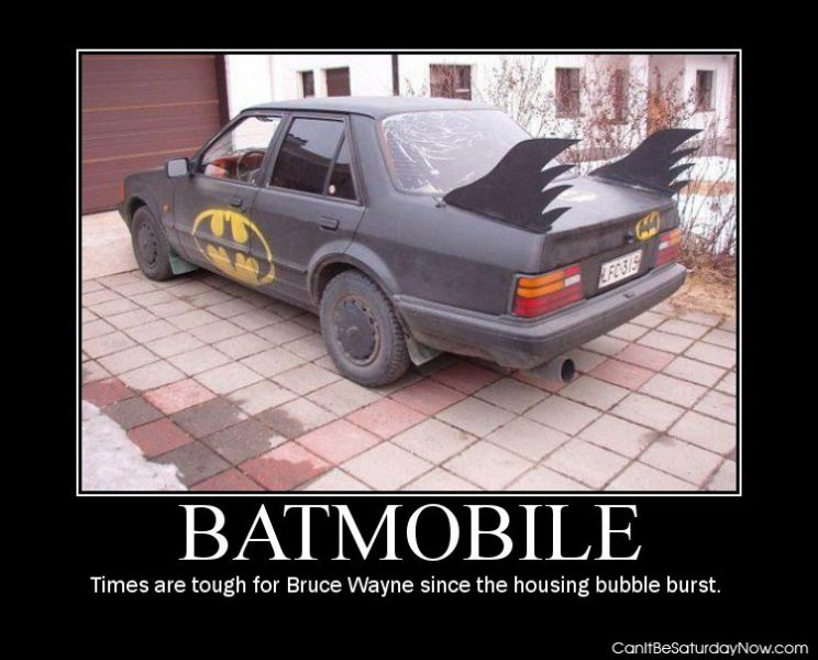 Batmobile bad