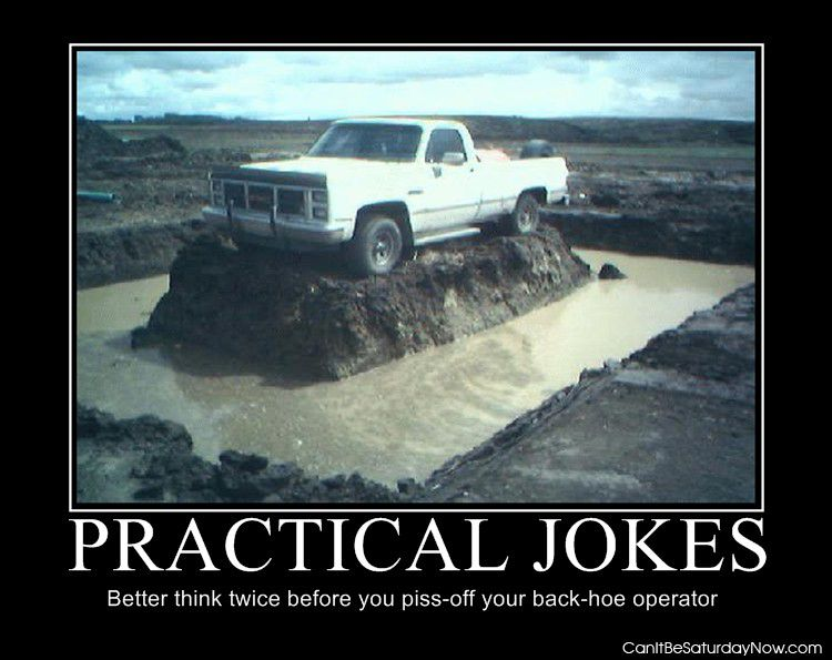 Practical back-hoe