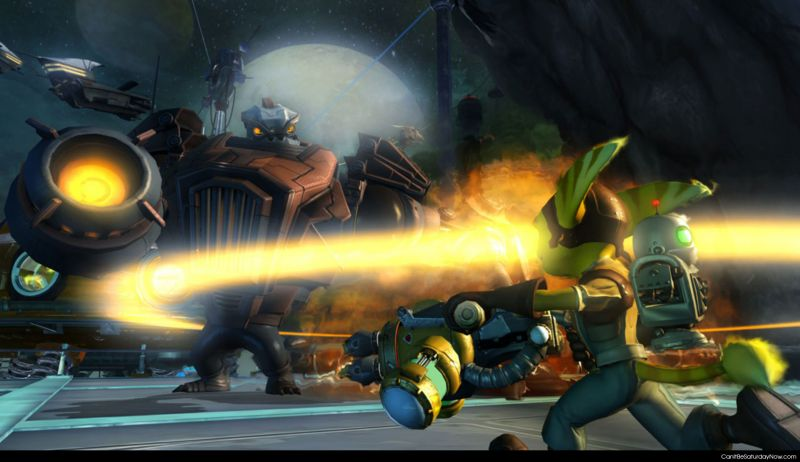 Ratchet and clank blur