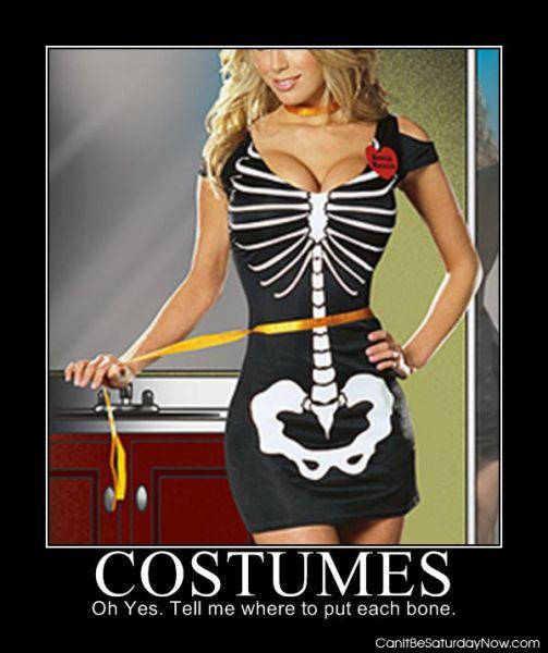 Bone costume