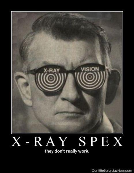 Xray spex