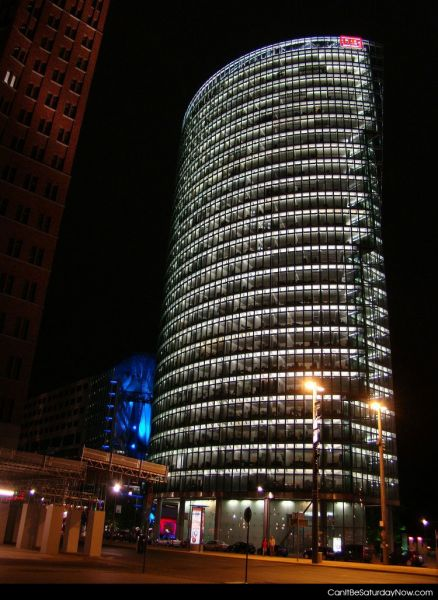 DB glass tower