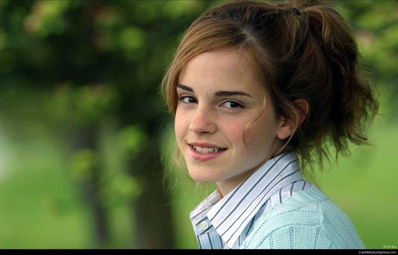 Emma watson outside