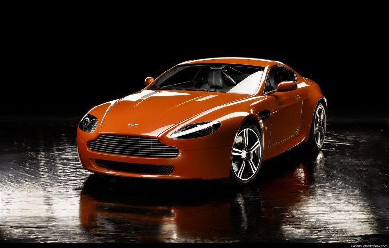 Aston Martin orange